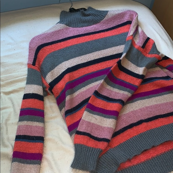 Chaps Tops - really fun half turtle neck sweater!